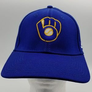 Milwaukee Brewers New Era 39THIRTY Hat sz M/Large